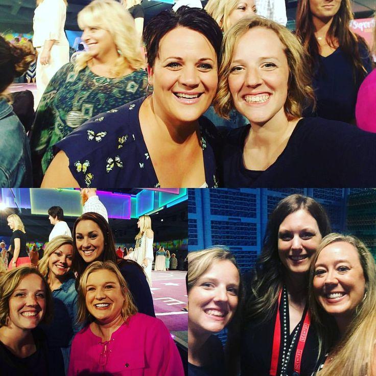 Casie Stevenson @casiestevenson  30m30 minutes ago A little #backstage FUN from #sfr2016 :) #justawickaway #casiestevenson #shareyoursong #scentsysocialmovement