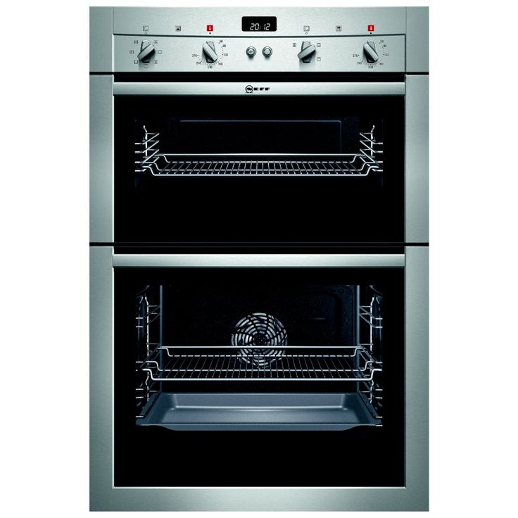 Built In Cookers Part - 25: Neff U14M42N3GB - CircoTherm Built In Double Oven | Appliance City