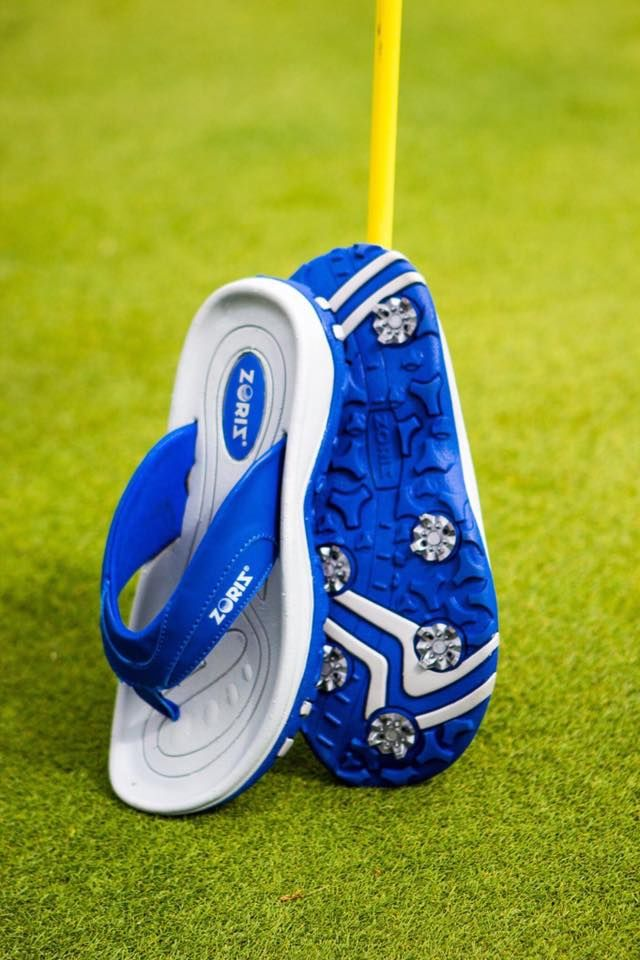 Golf Flip Flops!   Best golf shoes. Own a pair love them