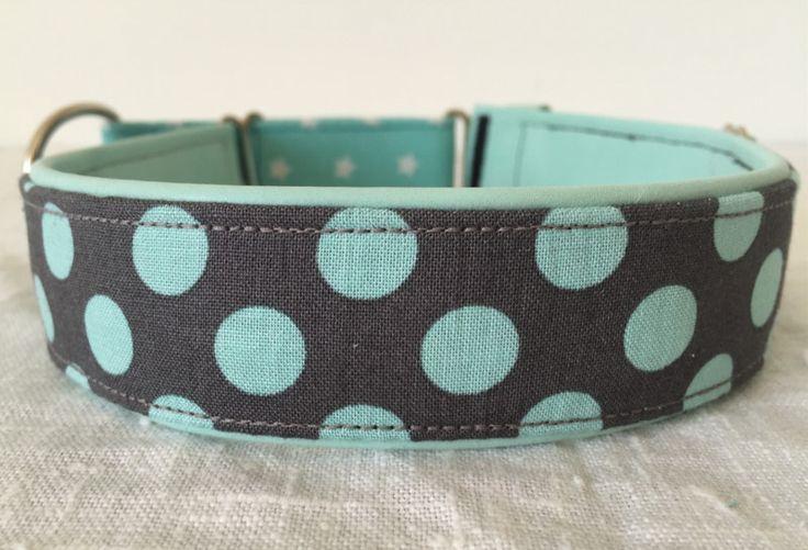 """Hund: Halsbänder - Zugstopp-Halsband """"Sima's-Juwel-of-the-Ocean"""" - ein Designerstück von Wau-Wuff-And-U bei DaWanda"""