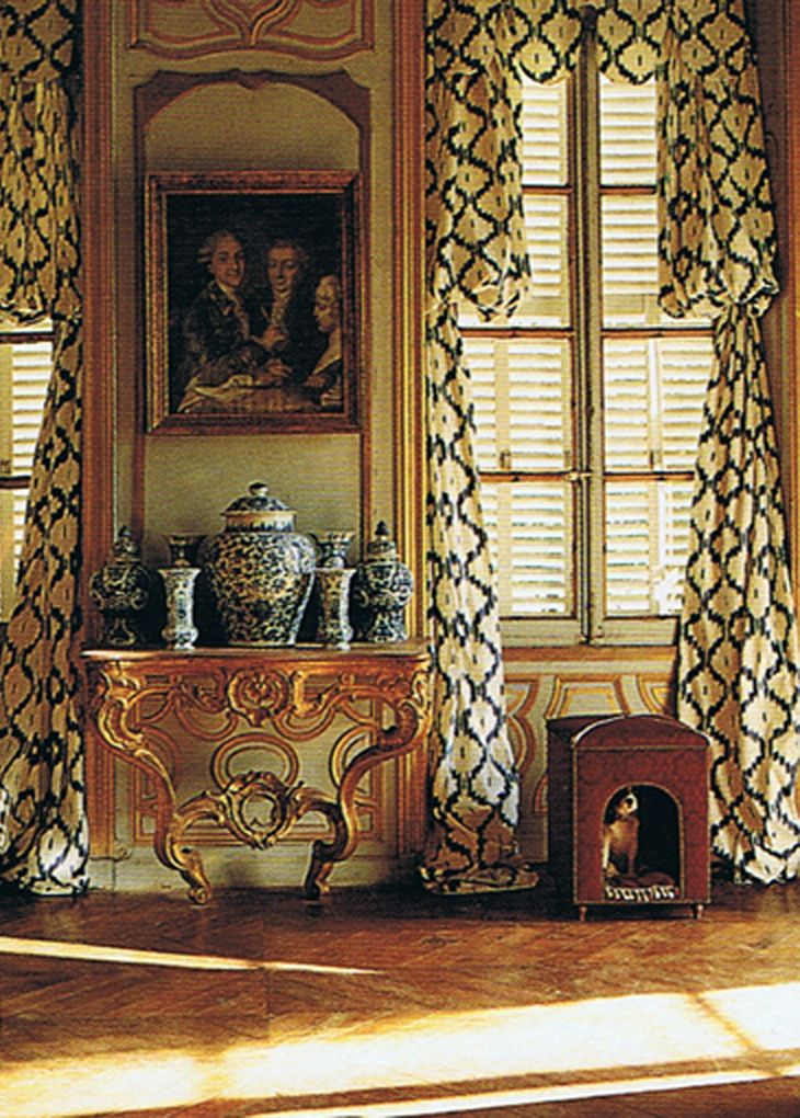 58 best images about chateau de morsan on pinterest the for 18th century window treatments
