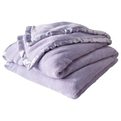 Simply Shabby Chic Cozy Blanket In Lavender Target This Looks So Soft