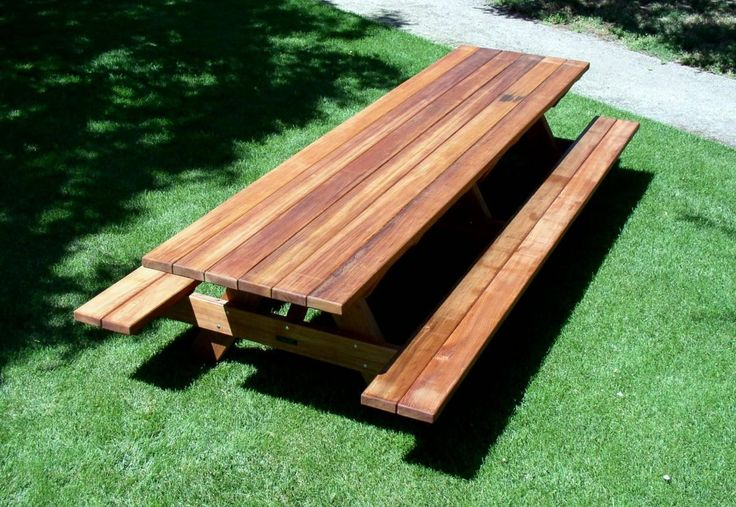 25+ Best Ideas About Picnic Table Plans On Pinterest