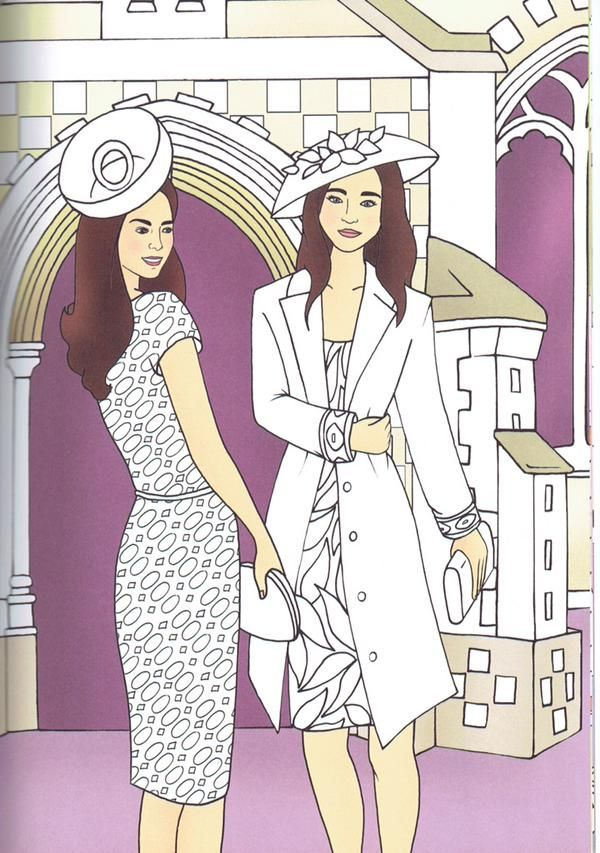 Princess Kate Coloring Pages : Best images about duchess of cambridge on pinterest