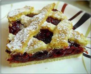 Limara péksége: Meggyes rácsos pite
