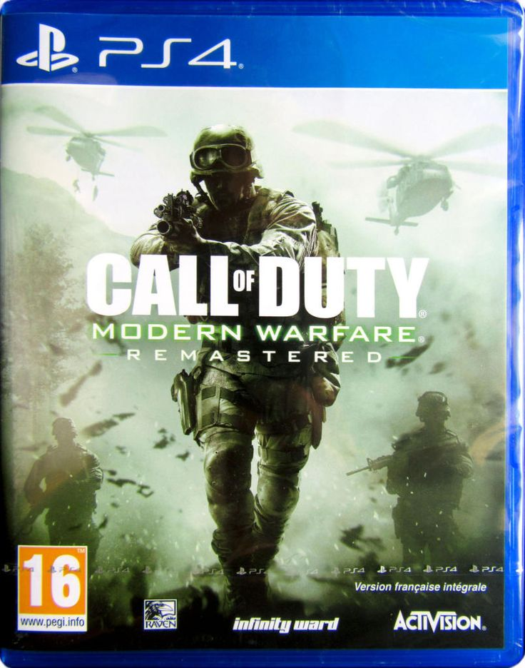 Call Of Duty : Modern Warfare Remastered - PS4 - Acheter vendre sur Référence Gaming