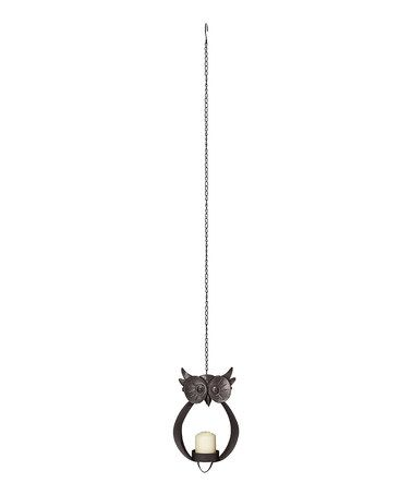 Love this Hanging Owl Candleholder by Foreside on #zulily! #zulilyfinds