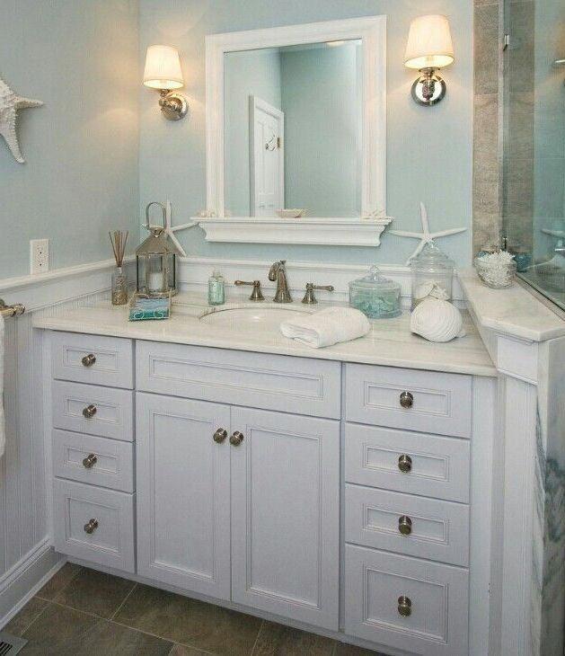 Ocean Bathroom Decor Attractive Small Bathroom Themes Images About Bathroom Ideas Ocean Bat Coastal Bathroom Decor Coastal Bathroom Design Ocean Bathroom Decor