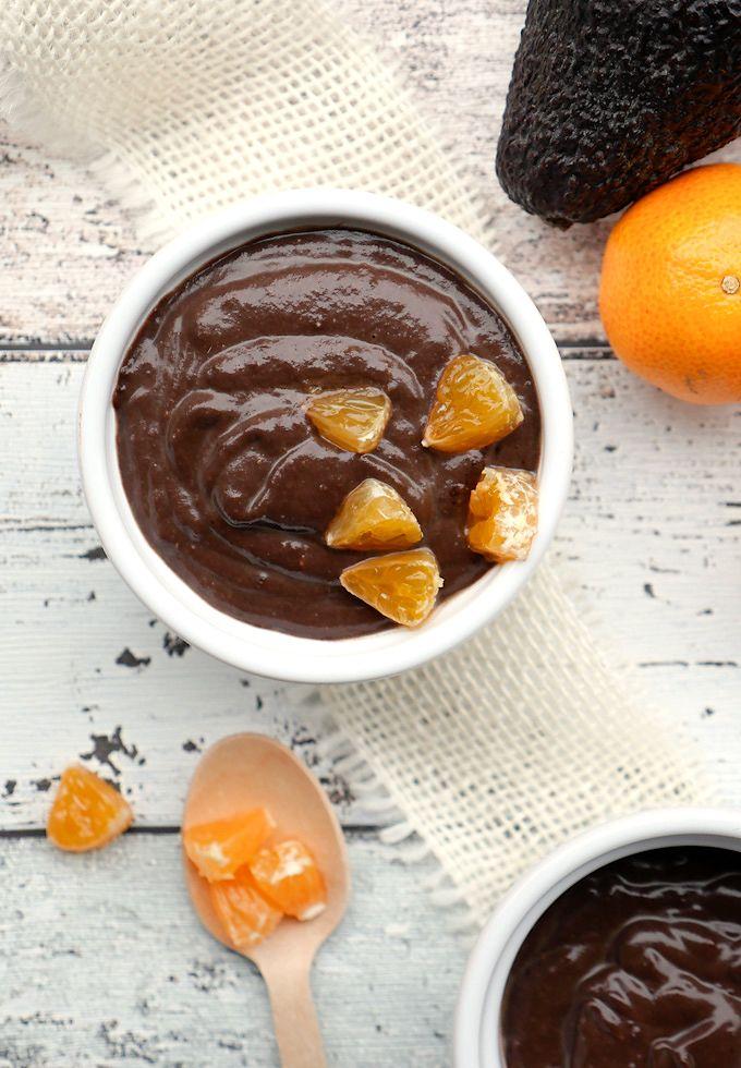 Rezept für Superfood Low Carb Schokopudding mit Avocado und Chia