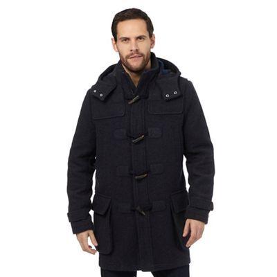 Mantaray Navy wool duffle coat | Debenhams