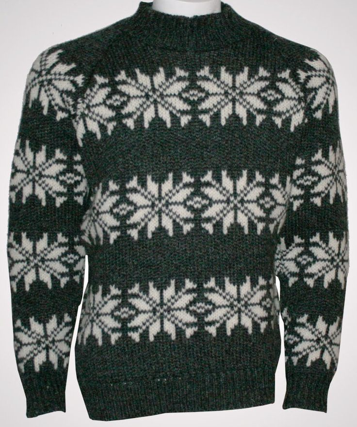 Norwegian Sweater of 100% pure Wool by Norwool, £72.95