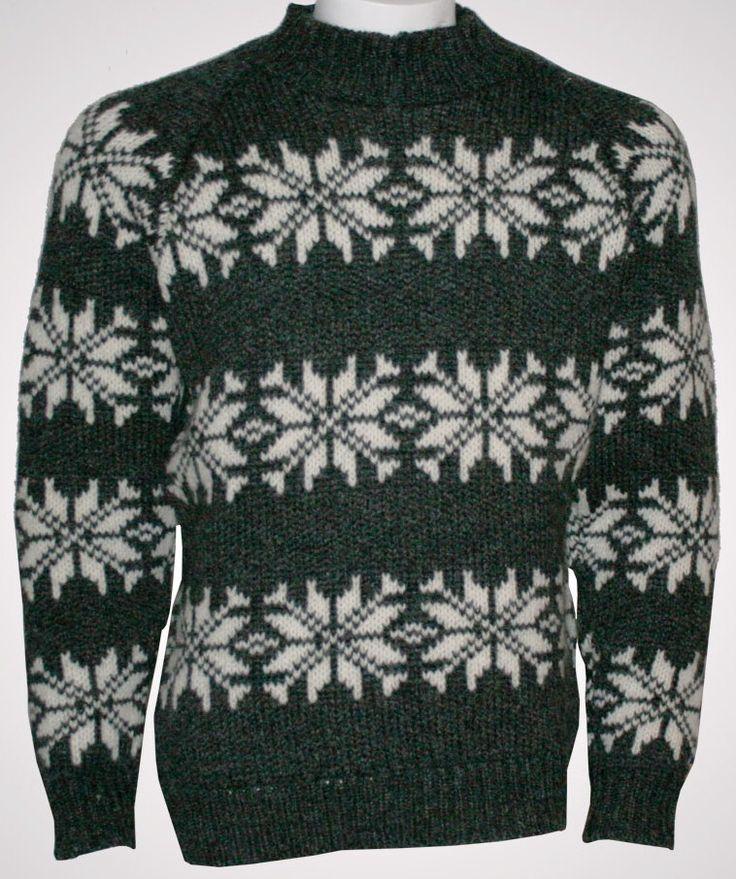Norwegian Sweater of 100% pure Wool by Norwool, £72.95