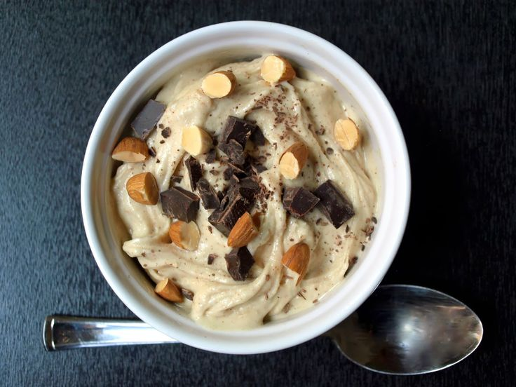 Raw Almond Chunky Monkey Ice Cream #TheSimpleVeganista