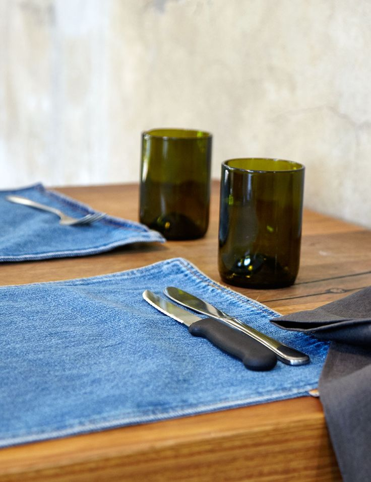 Abode Living - Dining & Kitchen - Denim Accessories - Freja Placemat - Abode Living