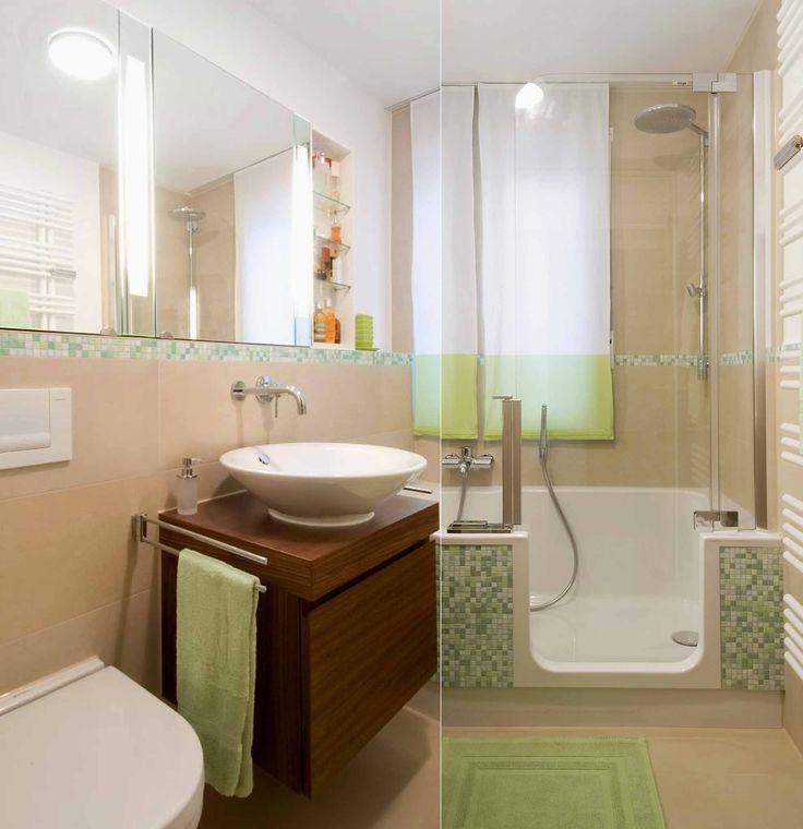 35 besten Kleine Badezimmer - mit Badewanne Bilder auf Pinterest - porta möbel badezimmer