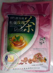 Зеленый чай Бабао из розы, барбариса, боярышника, и др. - 240 гр. Против угрей, прыщей и сыпи, очищает кожу. Пр-во Китай.