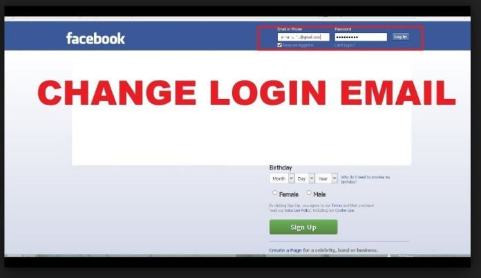Change Facebook Email Address Login Email My Blog Login Email Facebook Platform Email