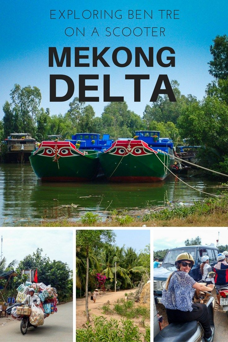 Exploring the Mekong Delta in Vietnam: What it's like to ride around Ben Tre on a Scooter