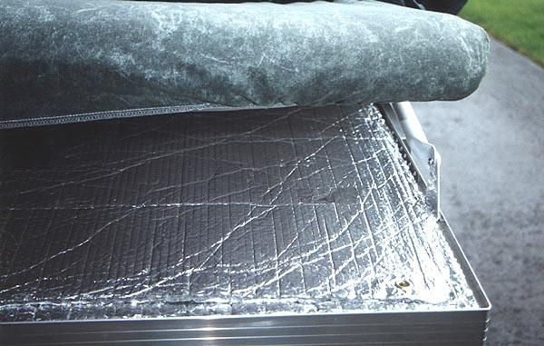 Reflectix is to add a layer under each mattress to help keep the cold out during the colder camping months while also improving bed comfort....