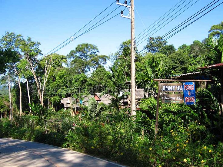Jimmy Hut is next to Chiang Mai Restaurant at Koh Kood (Thailand)