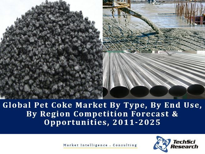 Global Petroleum Coke Market (Pet Coke) By Type (Fuel Grade Calcined, Fuel Grade Calcined), By End Use (Cement, Power, Smelting & Others), By Region Competition Forecast & Opportunities, 2011-2025