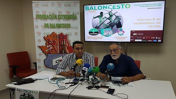 Este martes se ha presentado en la sala de prensa del Ayuntamiento de Navalmoral de la Mata la Copa de Extremadura en su edición de 2017.