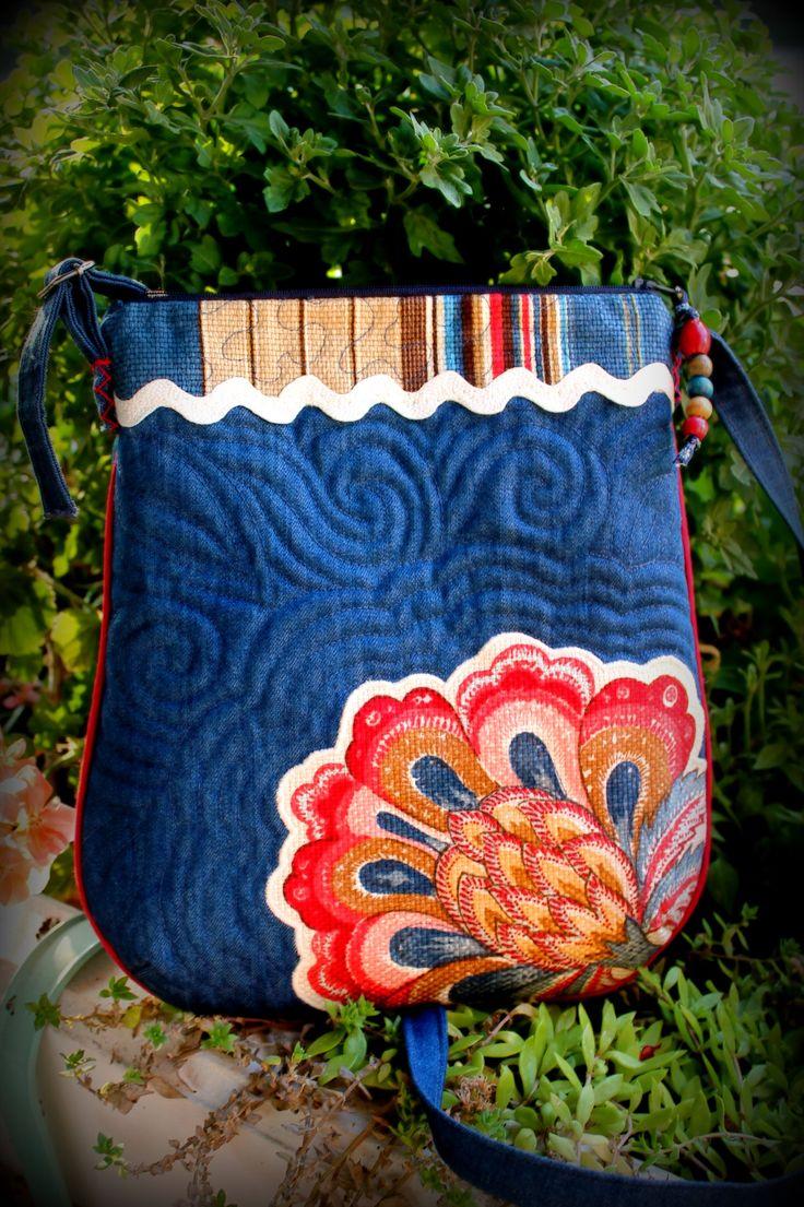 Summer bag - by Melinda Suranyi - 07.2015. www.melipatch.com