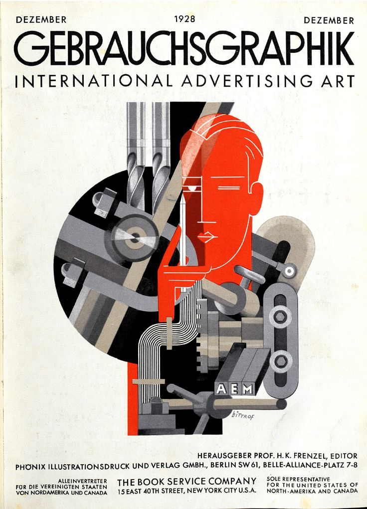Gebrauchsgraphik, Jhg. 5, Heft 12 (Dezember) 1928