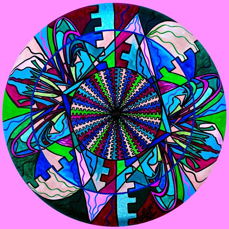 Pleiadian Integration Lightwork Model - Frequency Paintings - Teal Swan