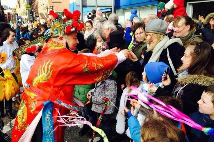 Pictured: Chinese New Year in Manchester 2014