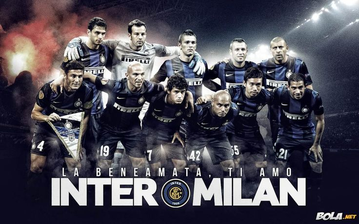 Inter Milan Team Squad 2013-2014 Wallpaper HD