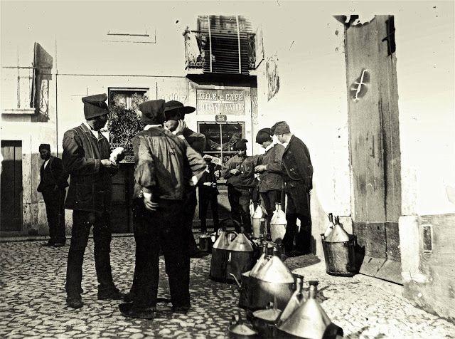 Lisboa de Antigamente: Profissões de antanho: o azeiteiro