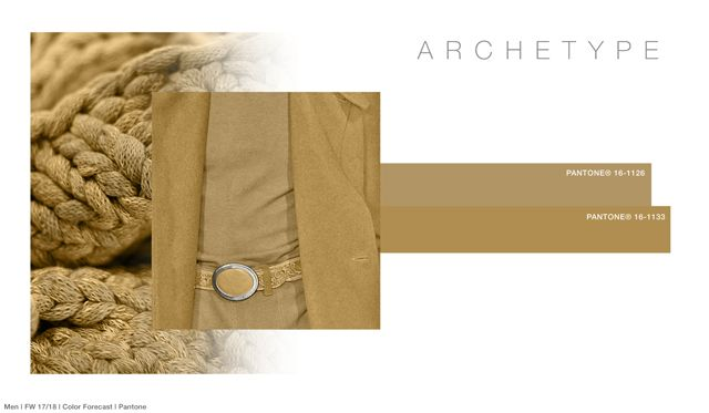 #FashionSnoops FW 17/18 color on #WeConnectFashion. Men's: Archetype - Soul Earth Tones Palette