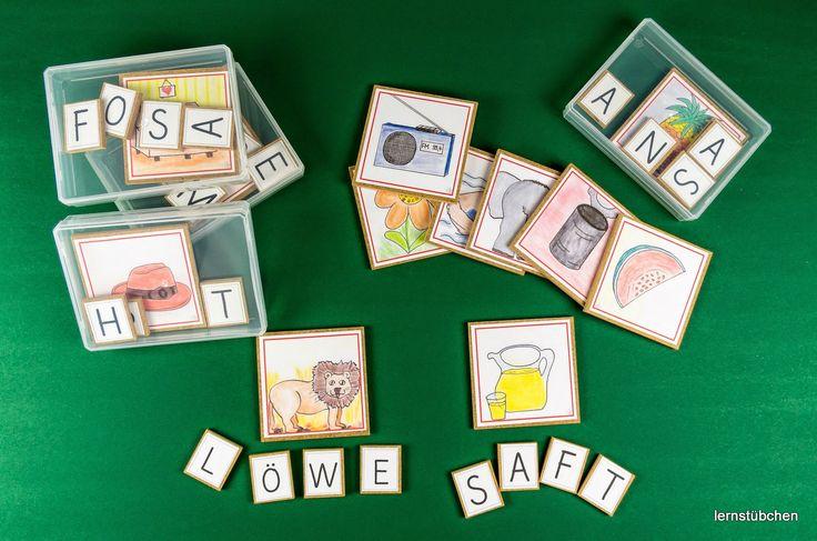 Lernstübchen: schreiben zu Bildern