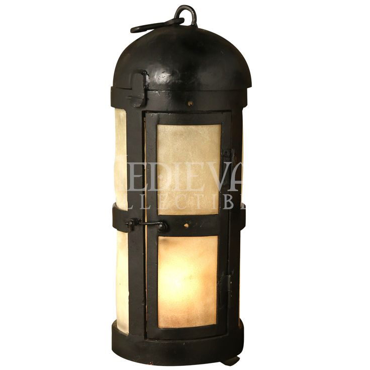 Paneled Medieval Lantern Cool Medieval Camping Stuff