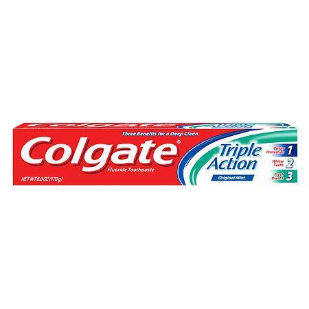 Colgate Triple Action Toothpaste - 6 oz.