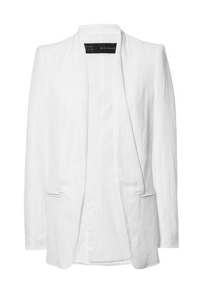 $90.00 Zara: LINEN BLAZER