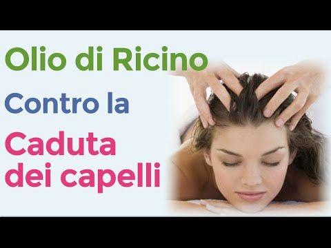 Olio di ricino per fermare la caduta dei capelli / Rimedio naturale contro la calvizie - YouTube