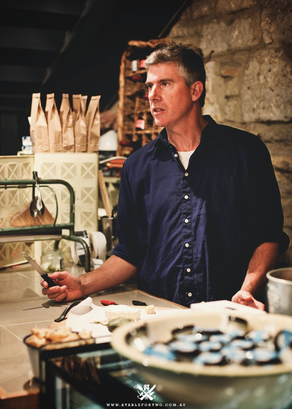 """TV program Gourmet Farmer brought a great amount of focus onto Tasmania's 'foodie scene' and now with partner Nick Haddow (Bruny Island Cheese), Matthew Evans has started 'A Common Ground'  inside The Salamanca Arts Centre. They call it  """"a cupboard under the stairs packed with Tasmanian artisan produce""""."""