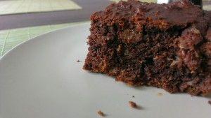 ciasto czekoladowe bez cukru - specjal dla cukrzykow