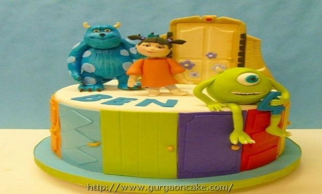 Monsters Inc Birthday Cake Asda