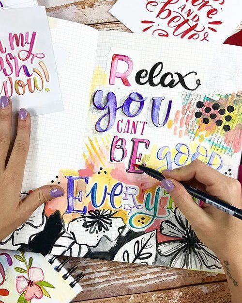 Makewells Lettering Art Journal
