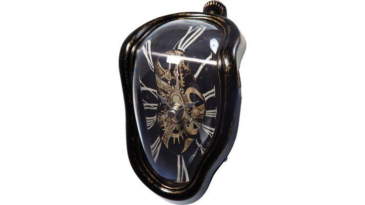 Horloge de table Flow Antique Kare Design