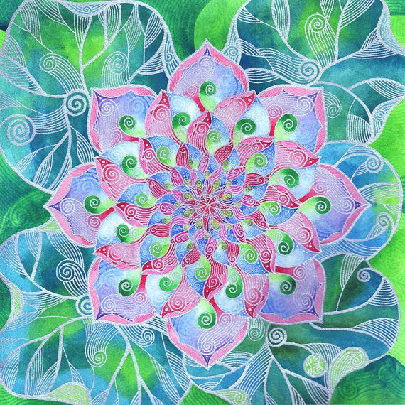 145 best mandala images on pinterest mandalas zentangle patterns and doodles - Mandalas signification formes ...
