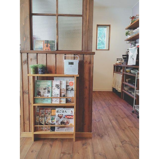 ダイソー/柿渋塗装/自然素材/無垢の床/パイン材/IKEA…などのインテリア実例 - 2016-02-26 10:56:16 | RoomClip(ルームクリップ)