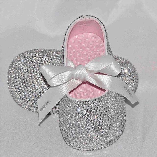 scarpe da bambina con swarovski