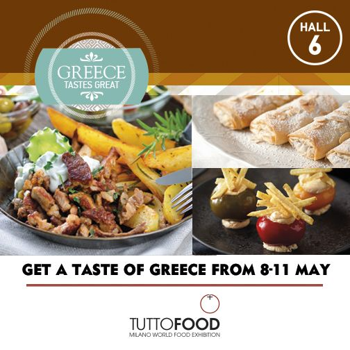 Many Greek deli products characteristic of the Greek gastronomy will be on display in Hall 6 @asapathens