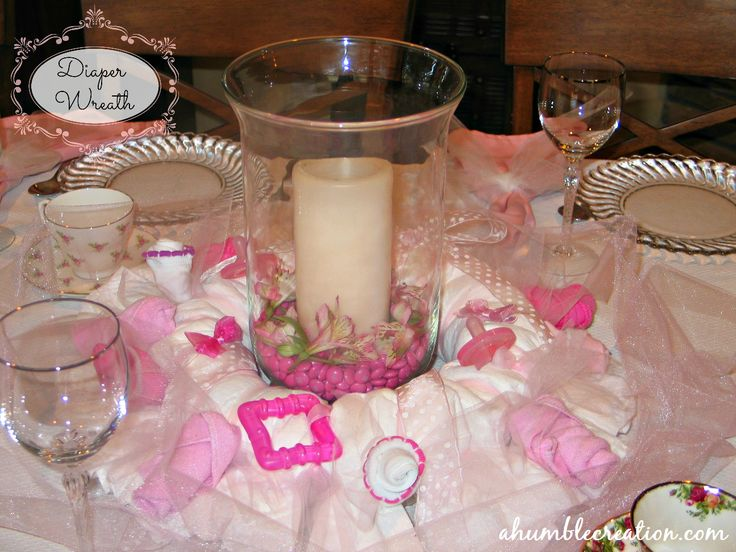 decorating ideas for baby shower for girl | Humble Creation: Tea Party Baby Shower