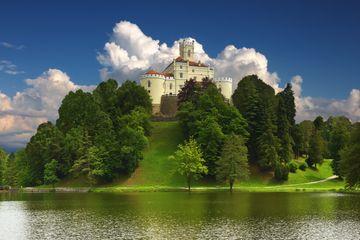 Trakoscan Castle near Zagreb, Croatia