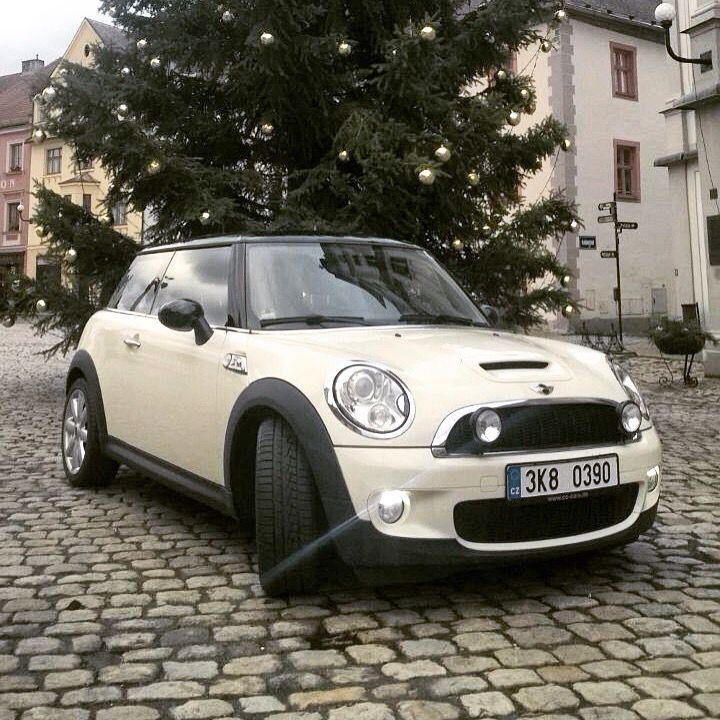 Mini Cooper S White